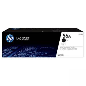 Тонер касета HP 56A Black Original LaserJet Toner Cartridge; Black; Page Yield 7,400 pages; HP LaserJet MFP M436n; HP LaserJet MFP M436nda, CF256A
