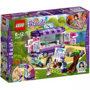 Конструктор Лего Френдс - Щандът за изкуство на Emma, LEGO Friends, 41332