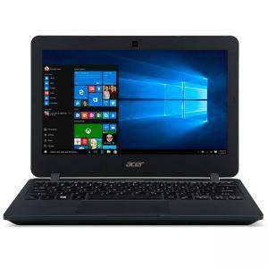 Лаптоп Acer TravelMate B117, Intel Celeron N3060 (up to 2.16 GHz, 2M Cache), 11.6' HD (1366x768) Anti-Glare, HD Cam, 4GB 1600MHz DDR3L, 64GB eMMC, NX.VCHEX.019