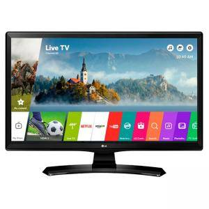 Монитор LG 24MT49S-PZ, 23.6 инча VA, LED non Glare, Smart webOS, 1000:1, 5000000:1 DFC, 250cd, 1366x768, HDMI, CI Slot, TV Tuner DVB-T2/C/S2, DVR ready, 24MT49S-PZ