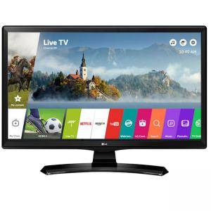 Монитор LG TV LED 24 инча 16:9 HD Ready Smart TV, 24MT49S-PZ