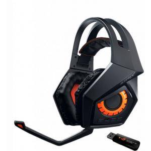 Геймърски слушалки ASUS ROG Strix Wireless, Черни, ASUS-HEAD-STRIX-WIRELESS
