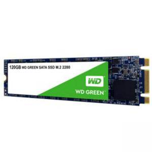 Диск SSD WD Green 3D NAND 120GB M.2 2280(80 X 22mm) SATA III SLC, read up to 545MBs (3 years warranty)