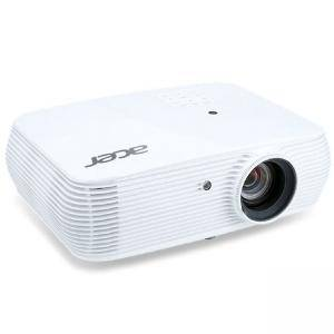 Мултимедиен проектор Acer Projector P5230, DLP, XGA (1024x768), 20000:1, 4200 ANSI Lumens, 3D 144Hz, VGAx2, RCA, HDMI/MHL, HDMI, Audio in, RJ45, Бял, PROJECTOR ACER P5230 4200LM
