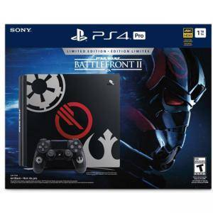 Конзола SONY PlayStation 4 PRO - 1TB + StarWars: BattleFrtont II