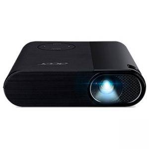 Мултимедиен проектор, Acer Projector C200, LED, FWVGA (854x480), 200 ANSIq Lumens, 3500:1, HDMI/MHL x1, Headphone out, DC Out (5V/1A usb) x1, черен, MR.JQC11.001