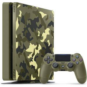 Конзола Playstation 4 Slim 1TB Call of Duty: WWII Limited Edition 1TB Green Camouflage, Камуфлаж