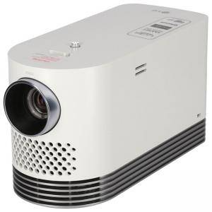 Мултимедиен проектор LG HF80JG, Laser (LD + P/W) Portable projector 2000 ANSI lumens, Vivid and Clear 1080P Picture Quality (1920x1080), Wireless screen mirroring, 150 000, HF80JG