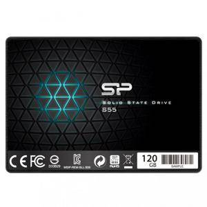 Диск Solid State Drive (SSD) SILICON POWER S55, 2.5, 60 GB, SATA3, SLP-SSD-S55-60GB
