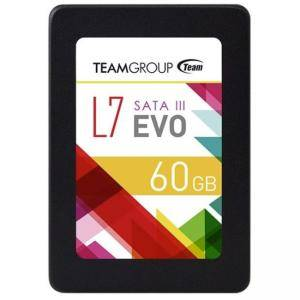 Диск Solid State Drive (SSD) Team Group L7 EVO, 2.5, 60 GB, SATA 6Gb/s, TEAM-SSD-L7EVO-60GB