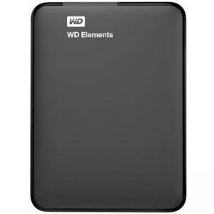 Външен диск HDD External WD Elements Portable (2.5 инча, 3TB, USB 3.0), Черен, WDBU6Y0030BBK-WESN