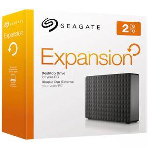 Външен диск SEAGATE HDD External Expansion Desktop (3.5'/2TB/USB 3.0), STEB2000200