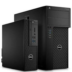 Работна станция Dell Precision T3620 MT, Intel Xeon E3-1220v6 (3.0Ghz up to 3.5Ghz, 8MB), 8GB 2400MHz DDR4, 1TB HDD, Integrated SATA Controller, DVD+/-RW, #DELL02138