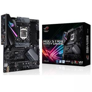 Дънна платка ASUS ROG STRIX H370-F GAMING , Socket 1151 (300 Series), Aura Sync, 4 x DDR4, ASUS-MB-STRIX-H370F-GAMING