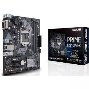 Дънна платка ASUS PRIME H310M-K, Socket 1151, Intel H310 Chipset 4 x SATA 6Gb/s port(s)