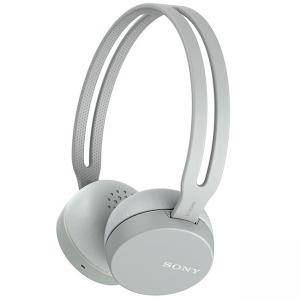 Слушалки Sony Headset WH-CH400, Bluetooth/NFC, Google/Siri voice assistant, grey, WHCH400H.CE7