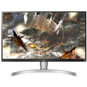 Телевизор LG 27UK650-W, 27 инча Wide LED, IPS Panel Anti-Glare, sRGB 99%, Cinema Screen, 5ms, 1000:1, Mega DFC, 450 cd/m2, 3840x2160, HDMI, DisplayPort, FreeSync, 27UK650-W