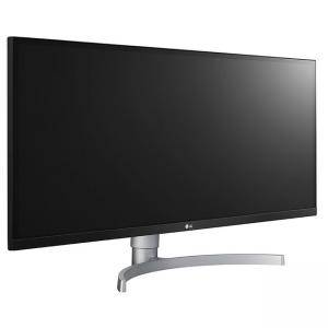 Монитор LG 34WK650-W, 34 инча Flat LCD AG, IPS Panel, 5ms, 1000:1, Mega DFC, 300 cd/m2, 21:9, 2560x1080, FreeSync 75Hz, HDR10, sRGB 99%, HDMI, DisplayPort, 34WK650-W