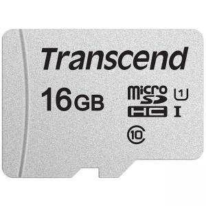 Карта памет Transcend 16GB microSDHC I, Class 10, U1 UHS-I (No Adapter), read: up to 95MBs, 45MB/s, TS16GUSD300S