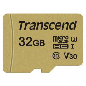 Памет Transcend 32GB microSDHC I, Class 10, U3, V30, MLC without adapter, read: up to 95MBs, 60MB/s, TS32GUSD500S