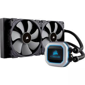 Водно охлаждане за процесор Corsair Hydro Series H115i PRO, Compatible with Intel (115x, Intel 2011/2066) and AMD (AM3/AM2, AMD AM4), 280mm Radiator, CW-9060032-WW