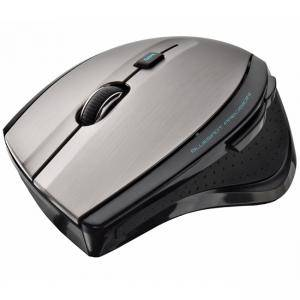Мишка TRUST MaxTrack Wireless Mouse - black/grey, 17176