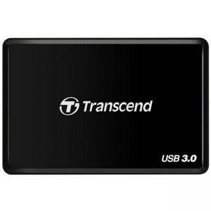 Четец за флаш карта Transcend USB 3.0 CFast Card Reader, Supports CFast 2.0/CFast 1.1/CFast 1.0 Memory Cards, Black, TS-RDF2