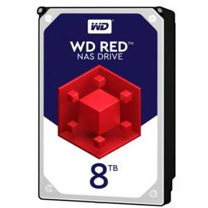 Твърд диск HDD 8TB SATAIII WD Red 256MB for NAS, WD80EFAX