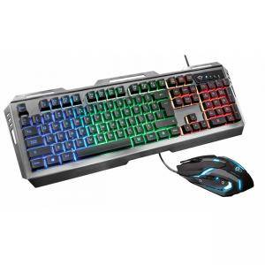 Клавиатура и мишка TRUST GXT 845 Tural Gaming Combo, 22457