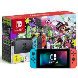 Конзола Nintendo Switch Console - Neon Red/Neon Blue + Splatoon 2 - Limited Edition (EU) (Switch)
