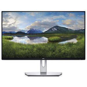 Монитор Dell S2319H, 23 инча Wide LED, IPS Anti-Glare, Ultrathin, FullHD 1920x1080, 5ms, 1000:1, 250 cd/m2, VGA, HDMI, Speakers, Черен и Сребрист, S2319H
