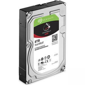 Твърд диск Seagate IronWolf 8TB NAS 7200 256MB Cache SATA 3.5, ST8000VN0022