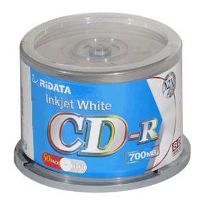 CD-R Ritek 80min./700mb. 52X - 50 бр - CD-BOX