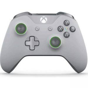 Контролер Xbox Wireless Controller Grey and Green - Special Edition