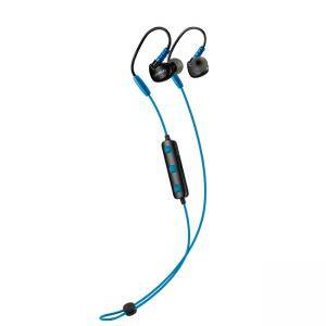 Слушалки Canyon Bluetooth sport earphones with microphone, 0.3m cable, blue, CNS-SBTHS1BL