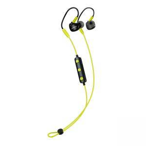 Слушалки Canyon Bluetooth sport earphones with microphone, 0.3m cable, lime, CNS-SBTHS1L