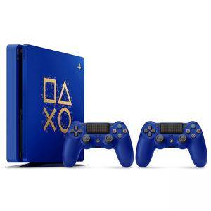 Конзола Sony PlayStation 4 Slim 500GB (PS4 Slim 500GB) Days Of Play Blue Limited Edition