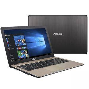 Лаптоп Asus X540NA-GQ052T, Intel Quad-Core Pentium N4200 (up to 2.5GHz, 2MB), 15.6 инча HD (1366x768) LED Glare, Web Cam, 4096MB DDR3L 1600MHz, 1TB HDD, 90NB0HG1-M03050