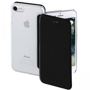 Калъф HAMA Clear за Apple iPhone 7/8, Черен, HAMA-177810