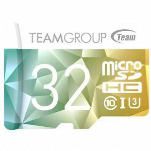 Карта памет Team Group Color Card II 32GB Micro SDHC/SDXC UHS-I U3 + SD Adapter, TEAM-SDMICRO-32GB-CLASS10-COLOR2