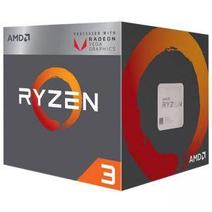 Процесор AMD RYZEN 3 2200G 4-Core 3.5 GHz (3.7 GHz Turbo) 6MB/65W/AM4/BOX, AMD-AM4-R3-RYZEN-2200G