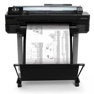 Мастилоструен плотер HP DesignJet T520 24-in Printer, USB 2.0, Ethernet, Wi-Fi, CQ890C