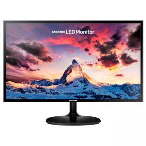 Монитор Samsung S24F350F 23.5 LED, Full HD (1920x1080) PLS, яркост: 250cd/m2, контраст: 1000:1, време за реакция: 4ms, черен, LS24F350FHUXEN