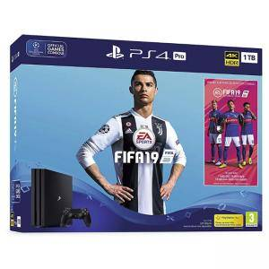 Конзола FIFA 19 PS4 Pro 1TB Bundle with FIFA 19 Ultimate Team Icons and Rare Player Pack