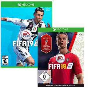 Игра FIFA 19 + FIFA 18 за XBox One - FREE 2018 FIFA WORLD CUP RUSSIA за Xbox One