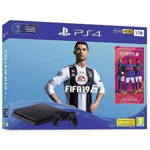 Конзола FIFA 19 1TB Bundle with FIFA 19 Ultimate Team Icons and Rare Player Pack (PS4)