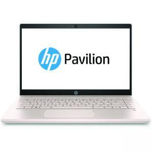 Лаптоп HP Pavilion Intel Core i7-8550U, 16 GB DDR4-2400 SDRAM памет (1 x 16 GB) 1TB 5400RPM + 128GB M.2 SSD Nvidia GeForce MX130 2GB 14.0, 5GS94EA