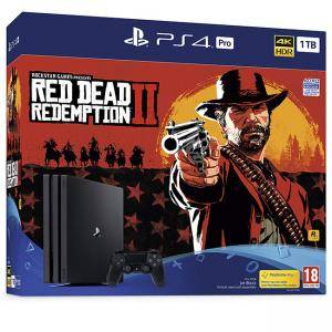 Конзола Sony PlayStation 4 Pro 1TB (PS4 Pro 1TB) + Red Dead Redemption 2 Bundle