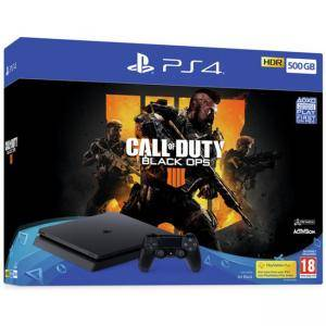 Конзола Sony PS4 500GB Console & Call of Duty: Black Ops 4 Bundle