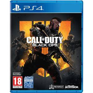 Игра Call of Duty: Black Ops 4 (PS4)